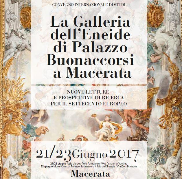 21-23.06.17 La Galleria dell'Eneide di Palazzo Buonaccorsi a Macerata