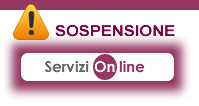 7.01 Interruzione servizi online