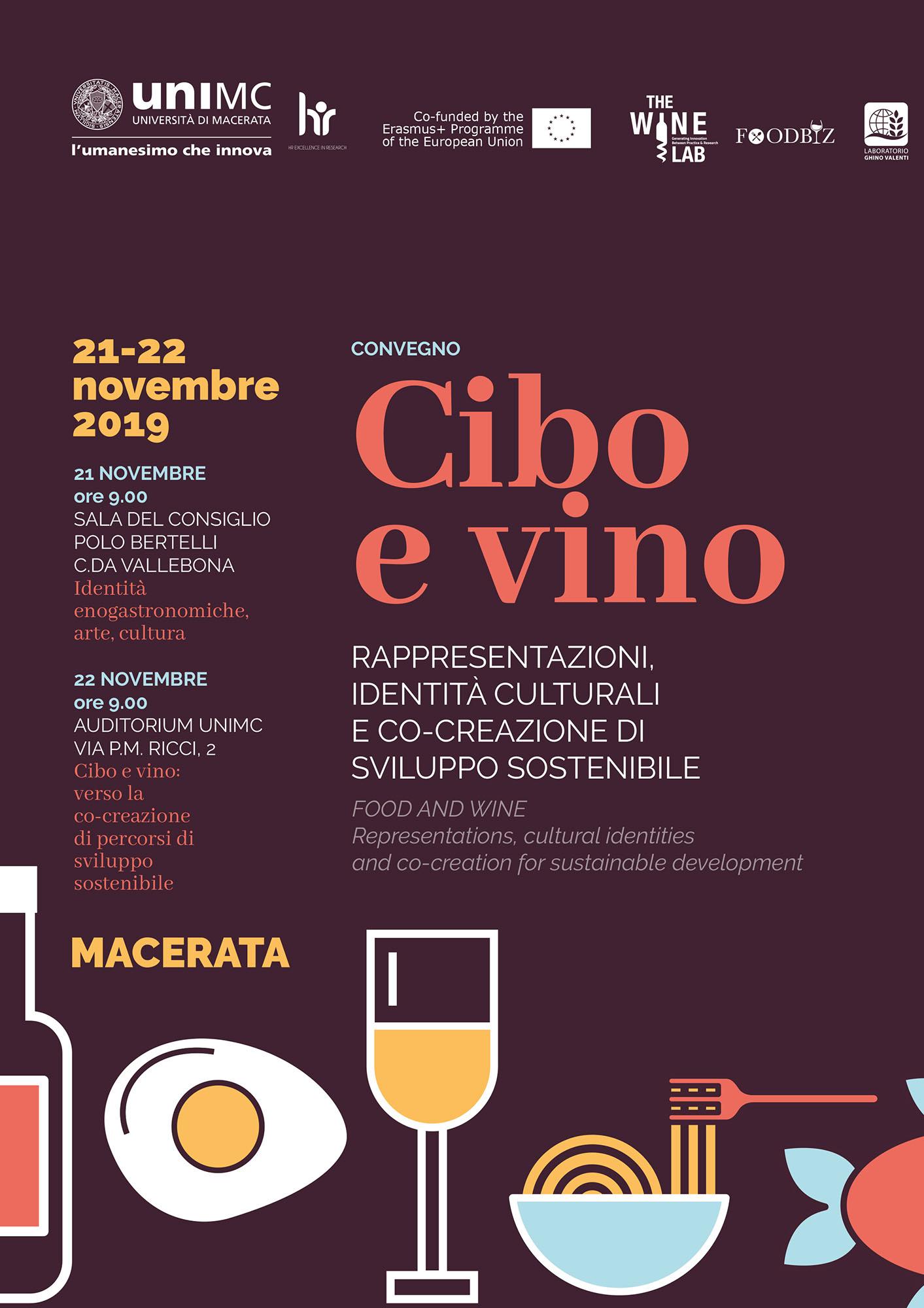 """Convegno Internazionale """"Cibo e vino"""""""