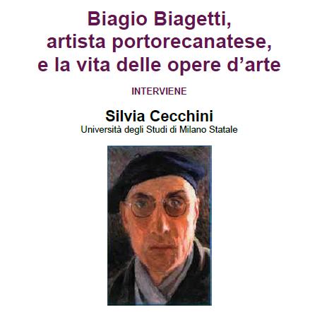 """Seminario: """"Biagio Biagetti, artista portorecanatese, e la vita delle opere d'arte"""""""