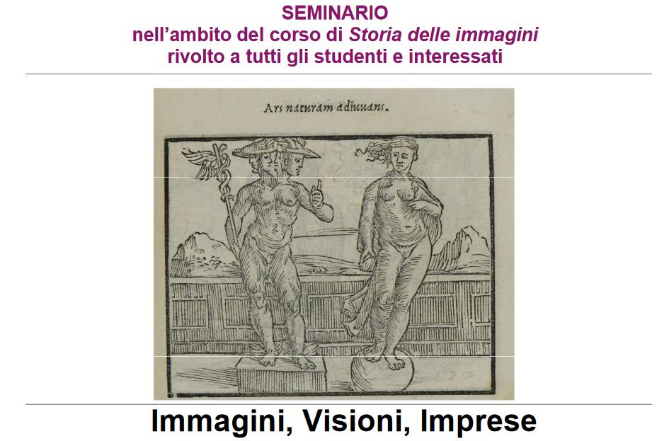 """Seminario """"Immagini, Visioni, Imprese"""""""