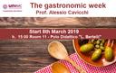 The gastronimc week