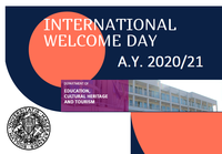 Welcome day a.y. 2020/21