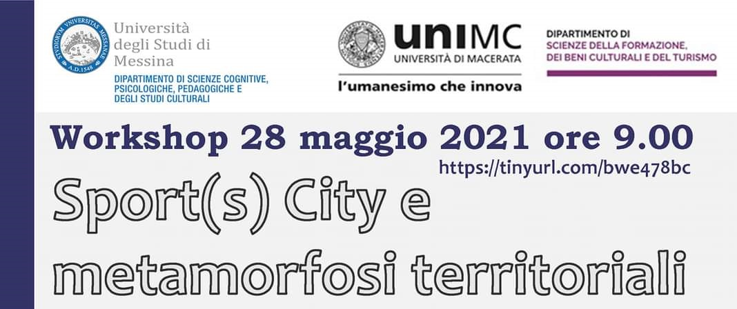 "Workshop online ""Sport(s) City e metamorfosi territoriali"""