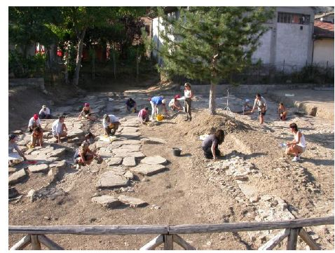 XVII Campagna di scavo archeologico a TIFERNUM MATAURENSE (Sant'Angelo in Vado - PU)